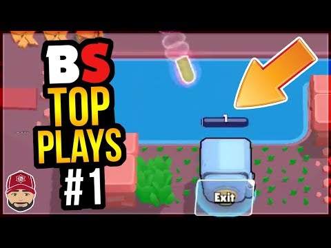 Best Plays & Moments In Brawl Stars History | BS Top Play Review #1