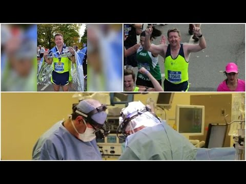 Man runs marathon weeks after heart surgery