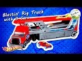 Hot Wheels · City · Blastin' Rig Truck With 3 Cars By BigBAMGamer