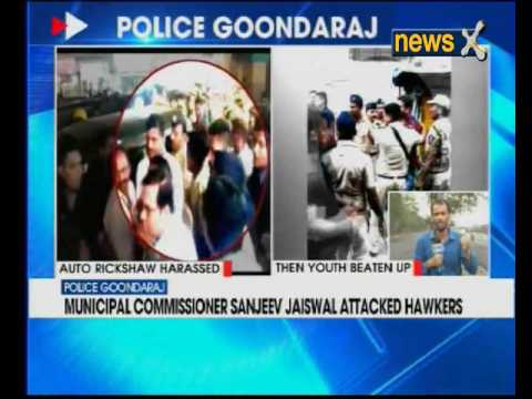 Municipal commissioner Sanjeev Jaiswal attacked hawkers in Thane, Maharashtra