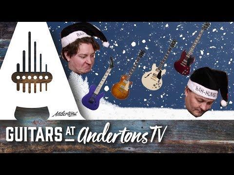 Twelve Guitars Of Christmas. A Rocking Christmas Carol!