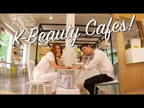 KOREAN BEAUTY CAFES ft. Innisfree and Skinfood