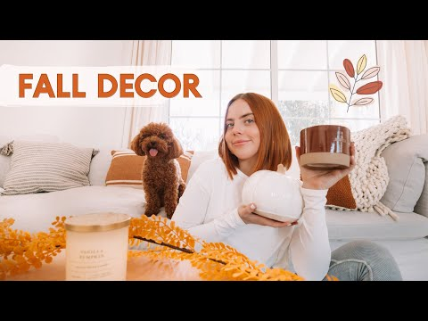 DECORATING OUR HOUSE FOR FALL | new home decor