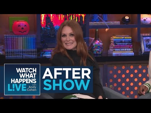 After : Julianne Moore's 'Hunger Games' Experience  WWHL