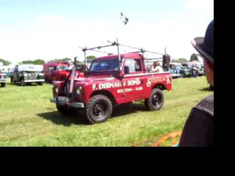 Fred Dibnah landy at heskin steamfair 2014