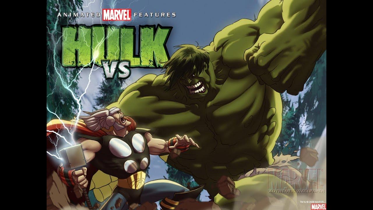 hulk vs thor dublado avi