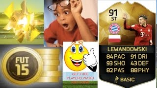 FIFA 15 IOS/ANDROID HOW TO GET FREE PLAYER,PACKS,AND COINS!(PROOF AND NO HACK)