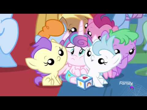 Flurry Heart Plays With Other Babies - Once Upon A Zeppelin