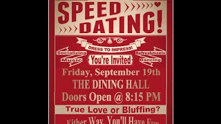 St. Michael Hall || Benedictine College || Alcohol Free Event || Speed Dating
