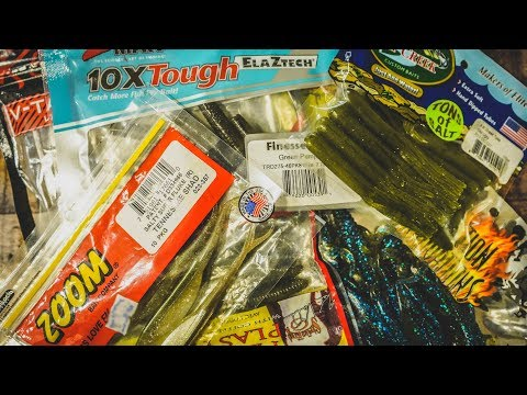 Best Worms and Creature Baits For Bass Fishing – Buyer's Guide