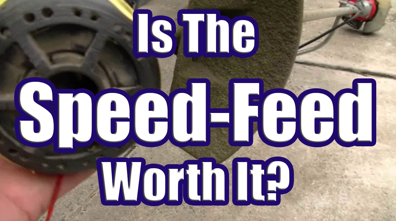 How Good is the Speed Feed Head? (Speed Feed Trimmer Head Only Last 11  Hours!)