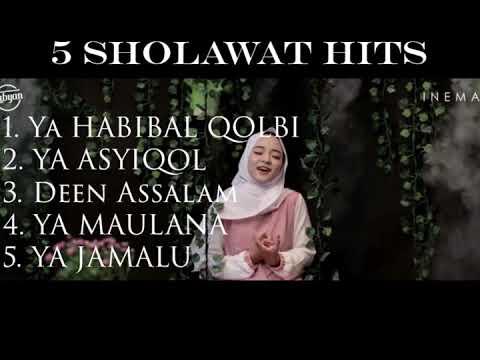 NISSA SABYAN - 5 Sholawat HITS  Album Paling POPULER!!! (Free Download)