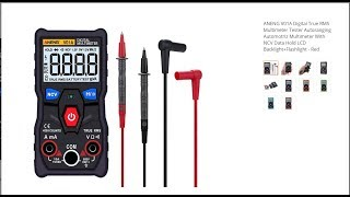 Review ANENG V01A Digital True RMS Multimeter Tester Auto ranging