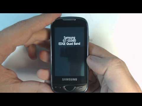 Samsung Marvel S5560 factory reset