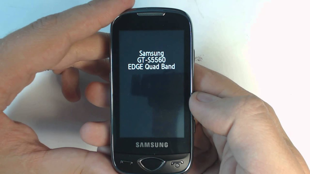 Инструкция по прошивке samsung s5560