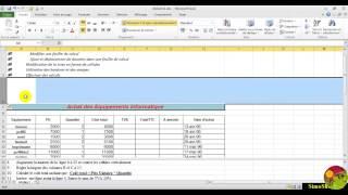 Formation Microsoft Excel 2010 MOS  ateliers 1 -En francais