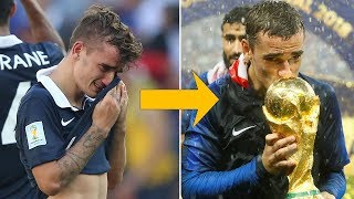How Griezmann went from tears to trophies: Never back down! - Oh My Goal