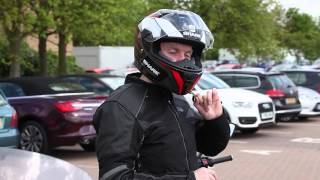 How to take your helmet on and off without undoing the D-ring | Products | Motorcyclenews.com