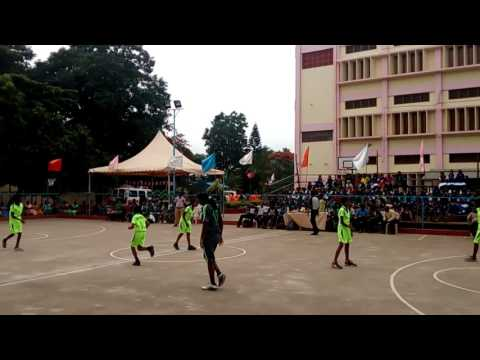 Coimbatore Alvernia school state level interschool basketball tournament