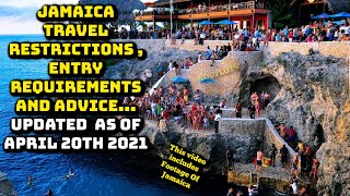 Jamaica New travel Travel Restrictions And Entry Requirements