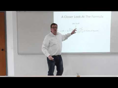 Statistics 25: Kruskal-Wallis & Friedman Tests