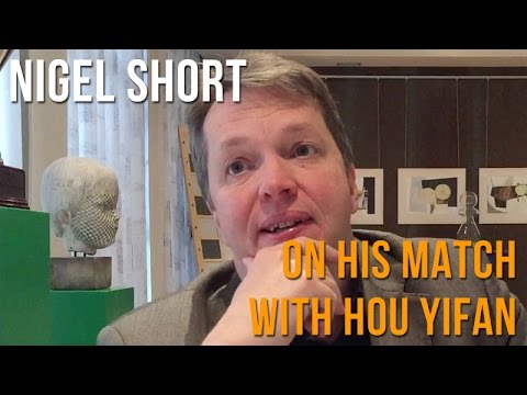 Hoogeveen: Nigel Short After His Match With Hou Yifan