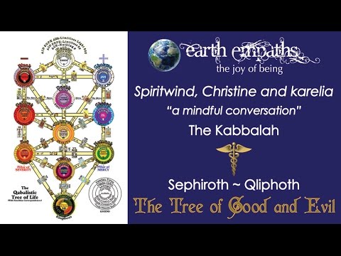 "Kabbalah | The Tree of Good and Evil ~ Spiritwind, Christine and karelia ""a mindful conversation"""