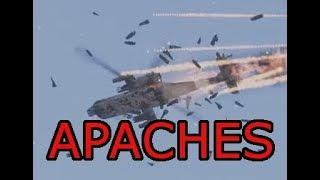 Freaking Apache Gunships in Arma 3 Antistasi