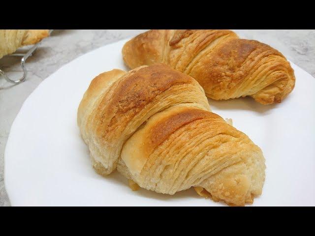 MamaVeganka: Kroasani s veganskim maslacem