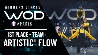 Artistic Flow | 1st Place Team Division | World of Dance Paris Qualifier 2018 | Winner's Circle