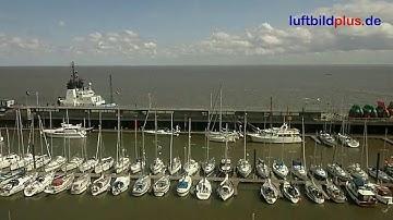 Wohnmobilstellplatz am Fährhafen von Cuxhaven