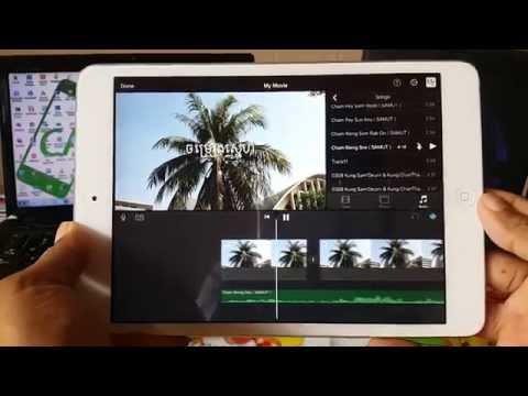 How to edit video on iPhone iPad with iMovie | របៀបកាត់តវីដេអូនៅលើ iPhone, iPad ជាមួយកម្មវិធី iMovie