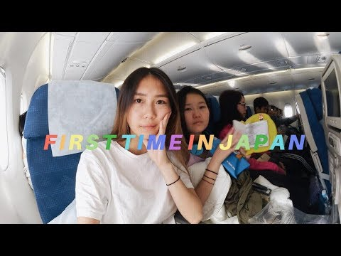 FIRST TIME IN JAPAN (Flying from Seoul to Japan)