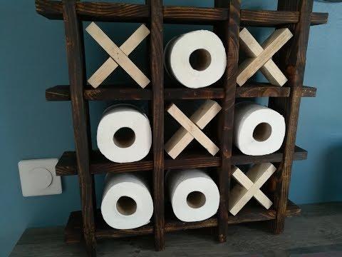 Comment une étagère morpion en bois de palette?