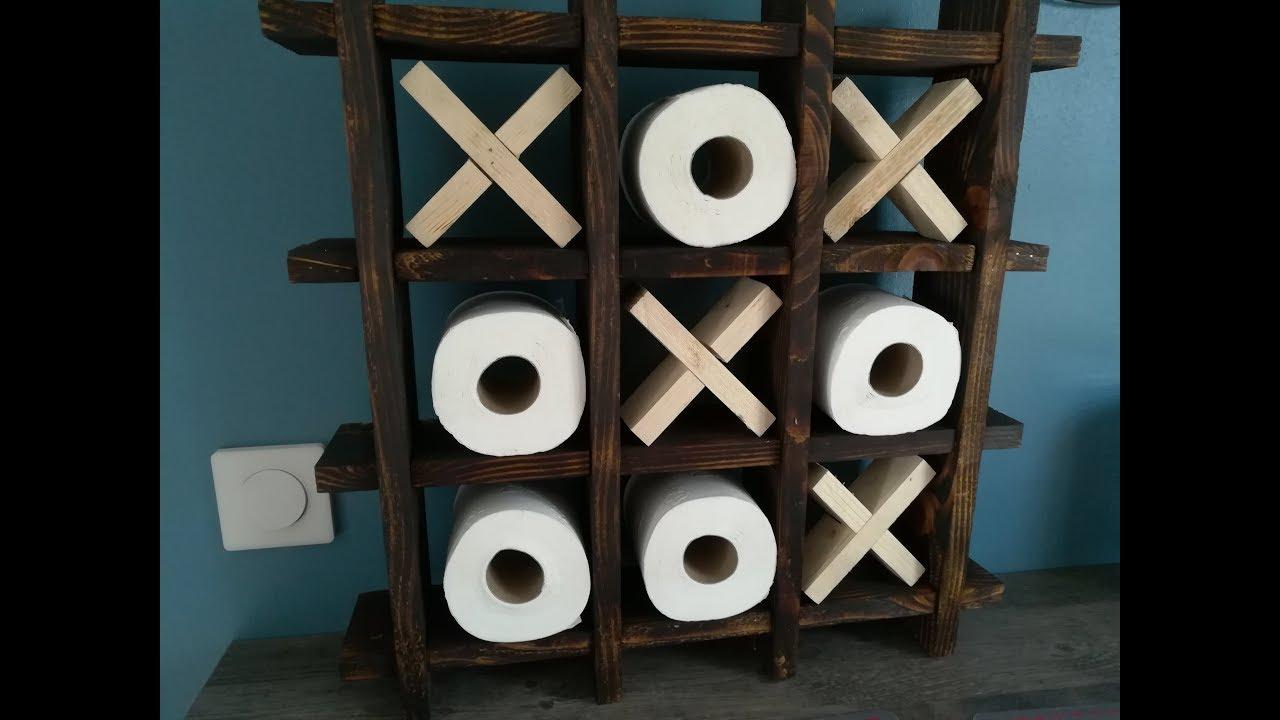 tuto etagere morpion en bois de palette