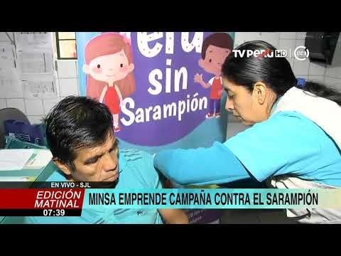 Ministerio de Salud refuerza vacunaci�n contra el sarampi�n en SJL