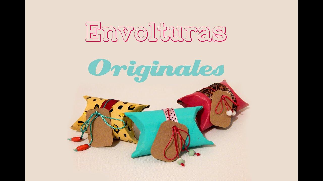 Como hacer envolturas para regalo originales material for Envolturas para regalos