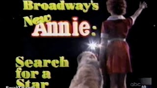 Video Broadway's New `Annie': The Search for a Star (Feb 17, 1997) download MP3, 3GP, MP4, WEBM, AVI, FLV Oktober 2017