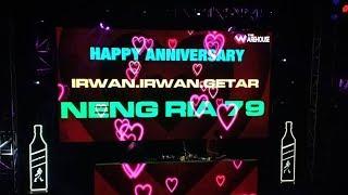 DJ NANA WIJAYA Happy Anniversary IRWAN GETAR ft NENG RIA 79
