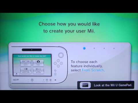 Wii U Launch: Mii Setup (and hassle!)