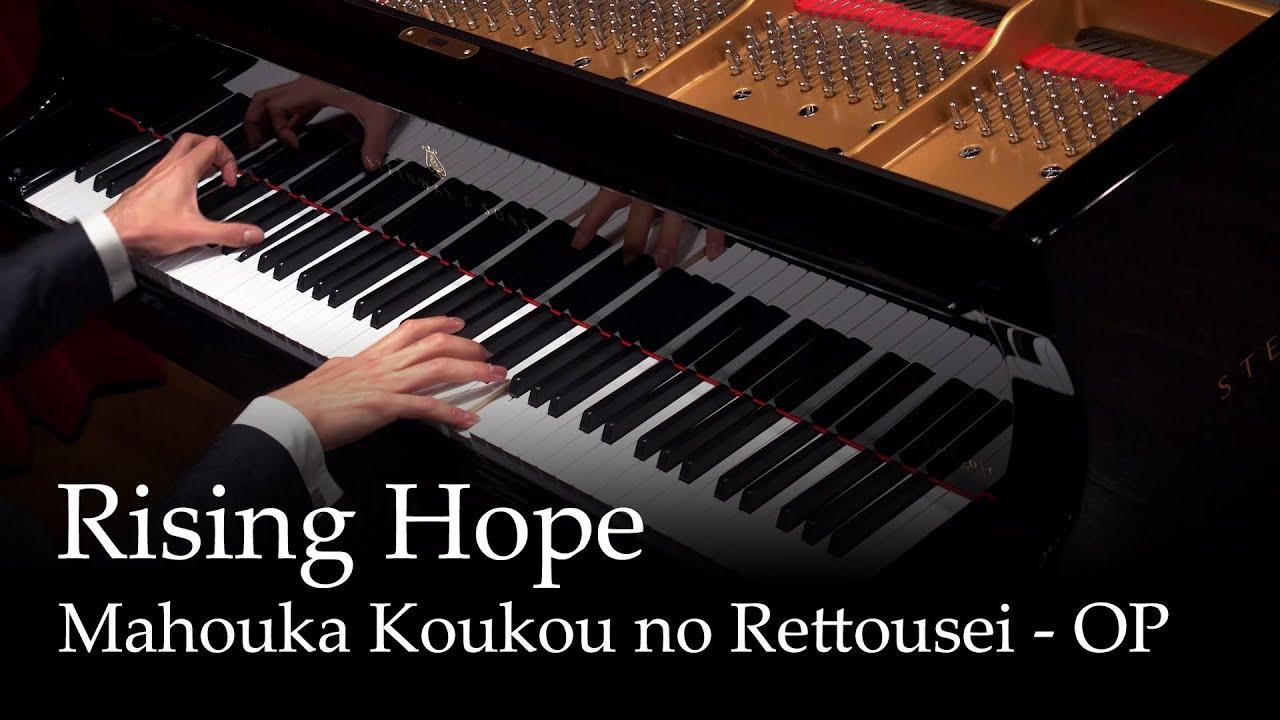 Rising Hope - LiSA Mahouka Koukou no Rettousei OP [piano]