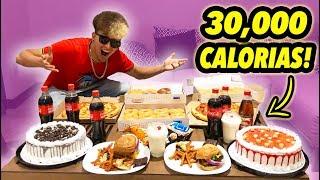 RETO 30 MIL CALORÍAS EN UN DIA