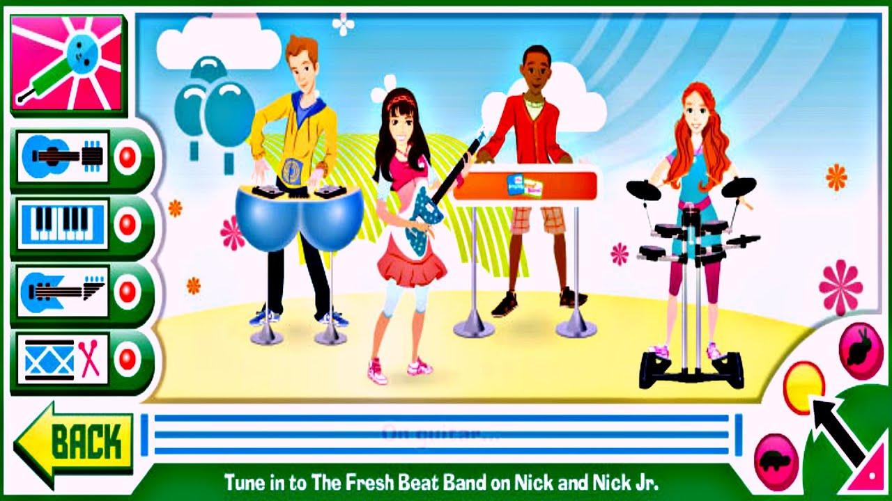 Mega Music Game with The Fresh Beat Band - YouTube