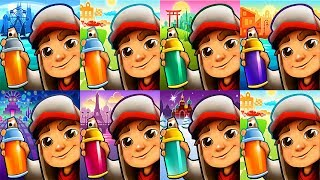 Subway Surfers Gameplay - Monaco vs Buenos Aires Chicago Pairs Mexico Saint Petersburg Tokyo