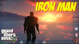 IRON MAN in GTA V - The Ultimate Superhero Mod (GTA 5 PC Mods)