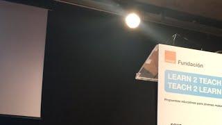 Conferencia David Cuartielles en #learn2teach