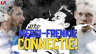 'Eindelijk Zie Je De Connectie Messi - Frenkie de Jong ontstaan bij FC Barcelona!'