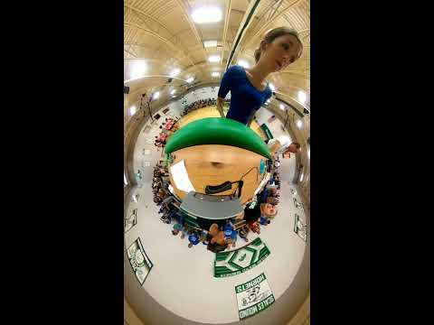 Scales Mound High School Volleyball 9.24.19 (Tiny Planet 360 Video)