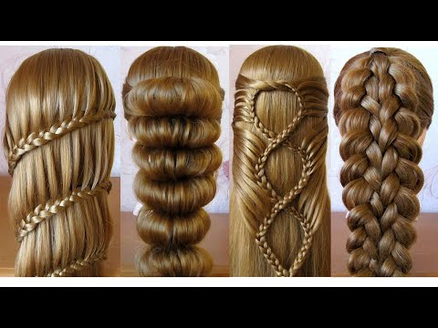 most-beautiful-hairstyles-for-girls-♥️-easy-hairstyles