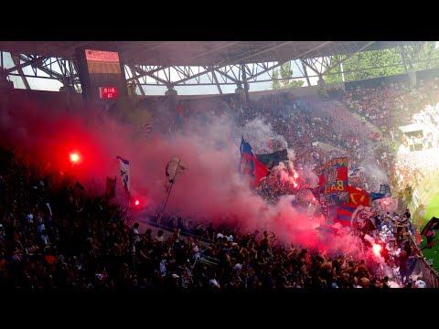 Fans: FC Basel Fans im Cupfinal in Genf - 25.05.2017